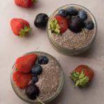 Vegan Chocolate Chia Seed Pudding 1