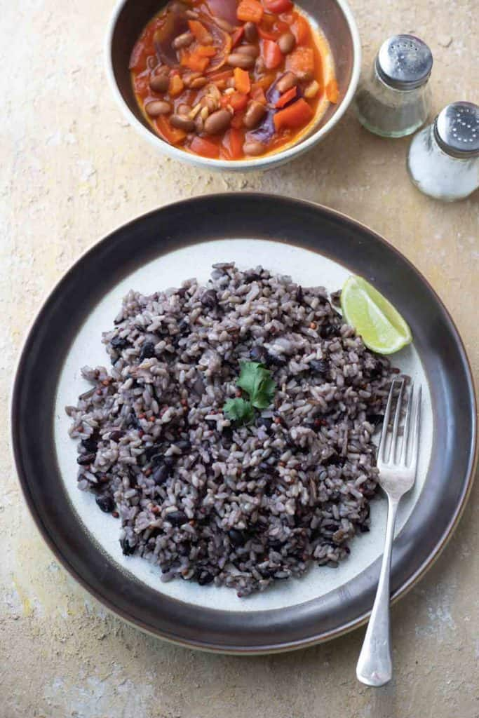 This image has an empty alt attribute; its file name is Instant_Pot_Black_Bean_Rice-2-683x1024.jpg