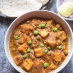 Healthy Matar Paneer Curry 2