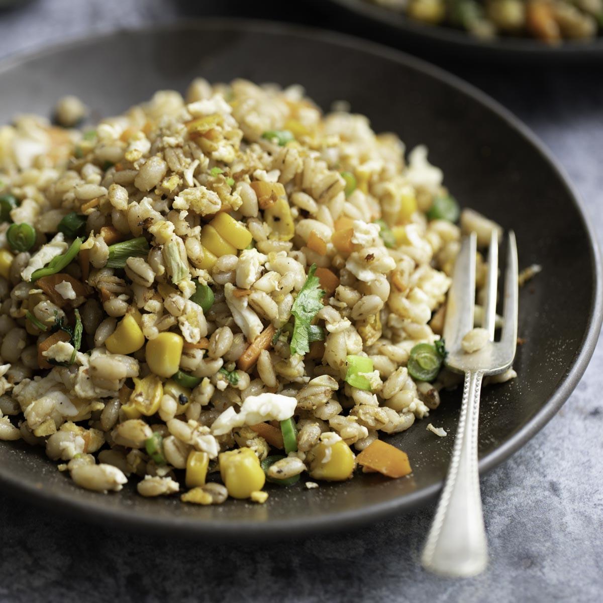 barley-egg-fried-rice